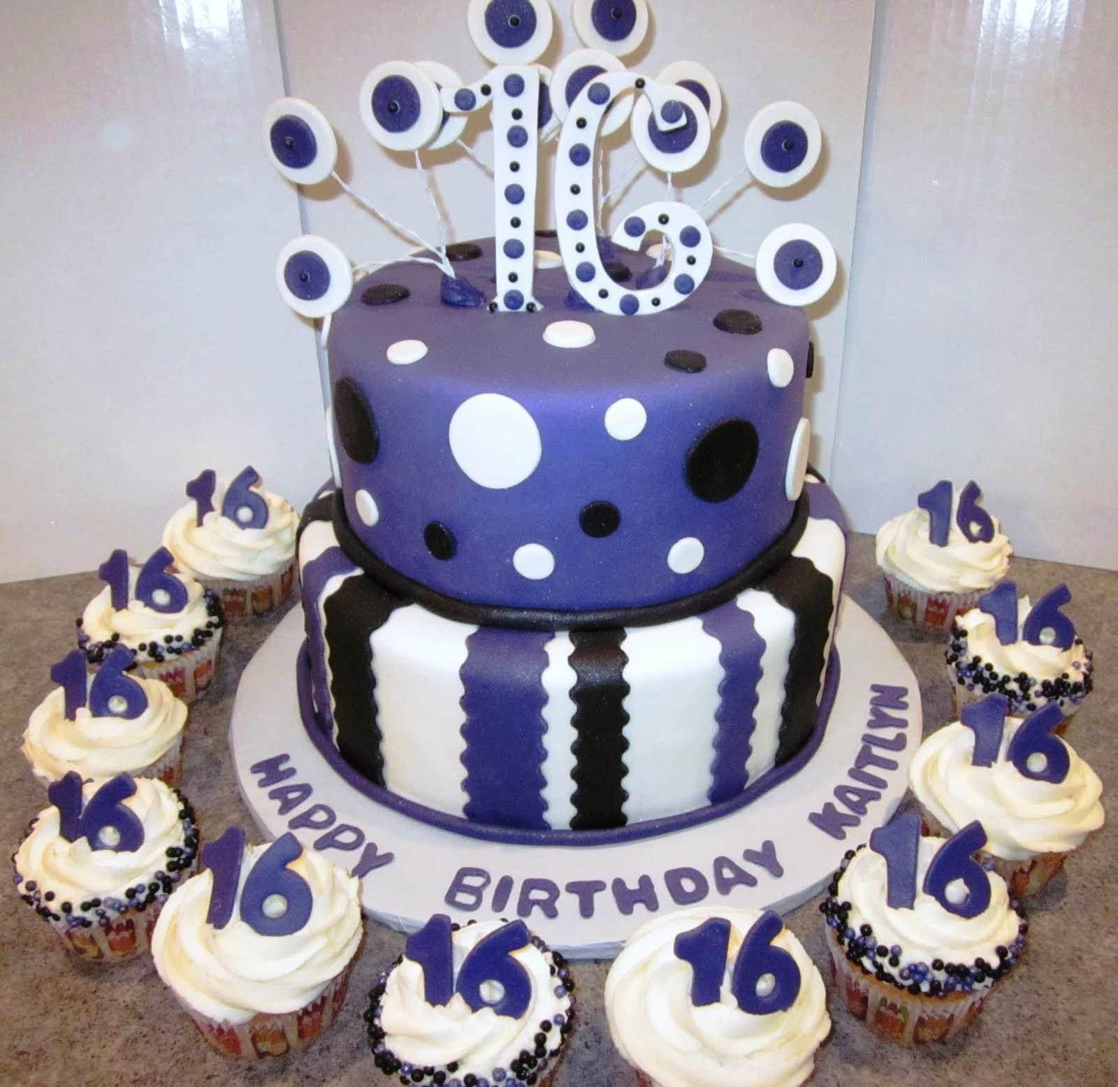 16thBirthdayCakeToppersjpg 16001555 Boys 16th birthday