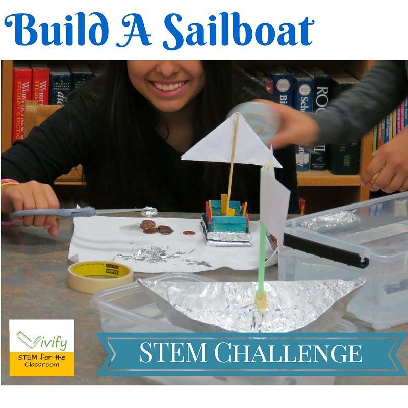 Stem Information For Students: STEM Sailboat Challenge Math & Engineering Activity