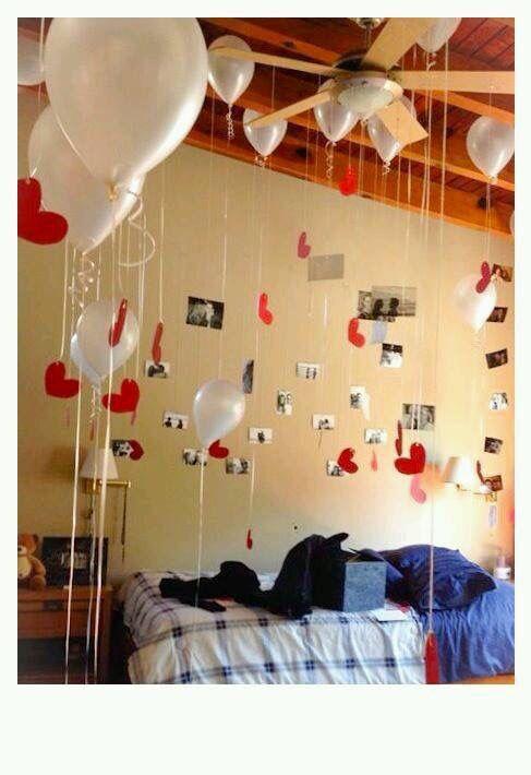 Anniversary Valentine S Day Surprise Welcome Home Boyfriend