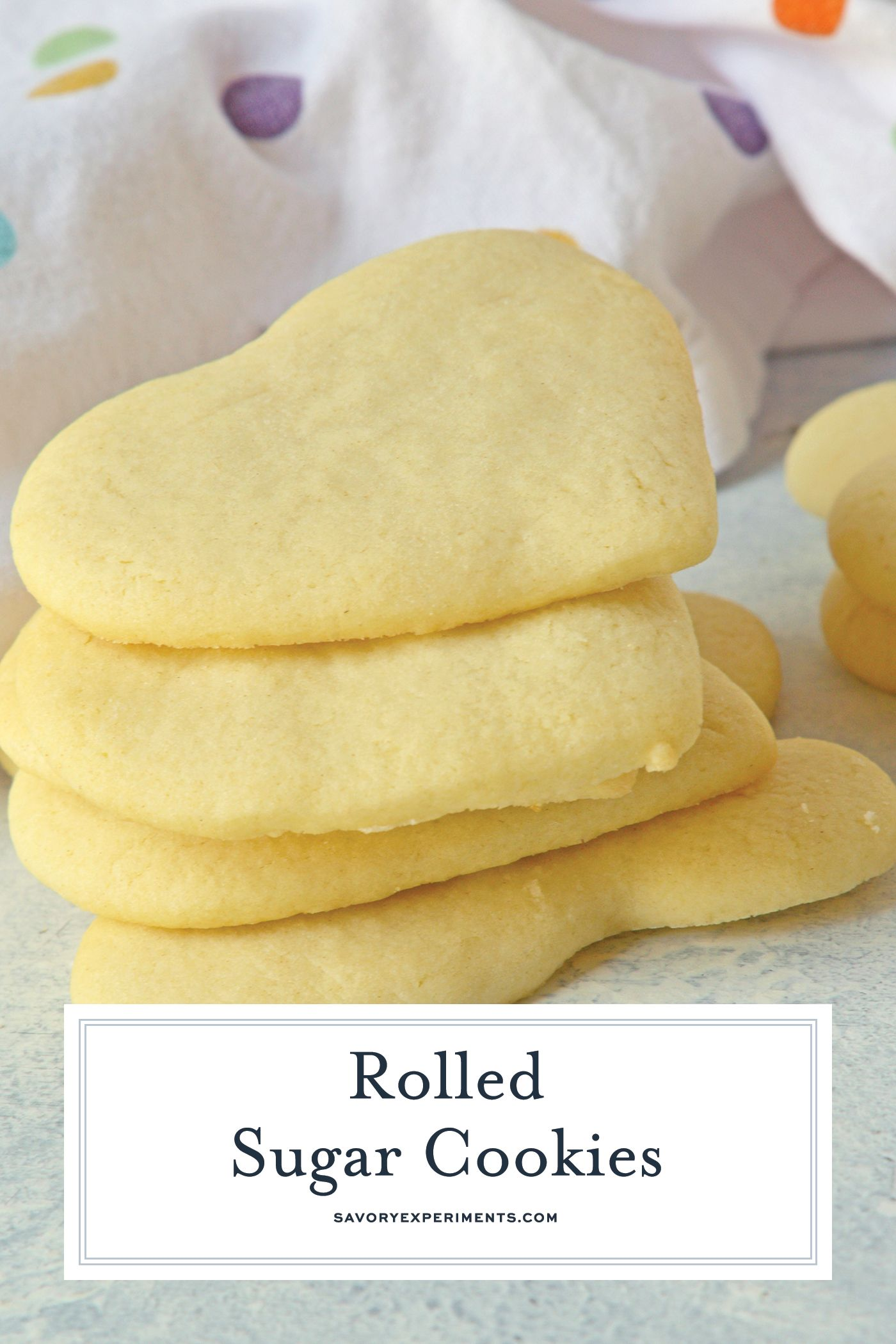 The Best Sugar Cookie Dough Recipe For Rolled Sugar Cookies Out