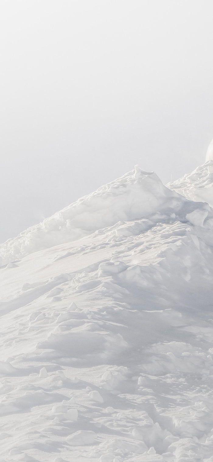 White minimalist mountain | Minimalist wallpaper phone ...