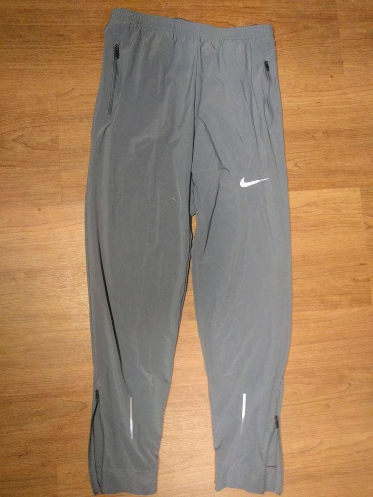 82862d32f7efe Men's Nike Flex Essential Woven Dri-Fit Running Black Pants Sz Small  #fashion #