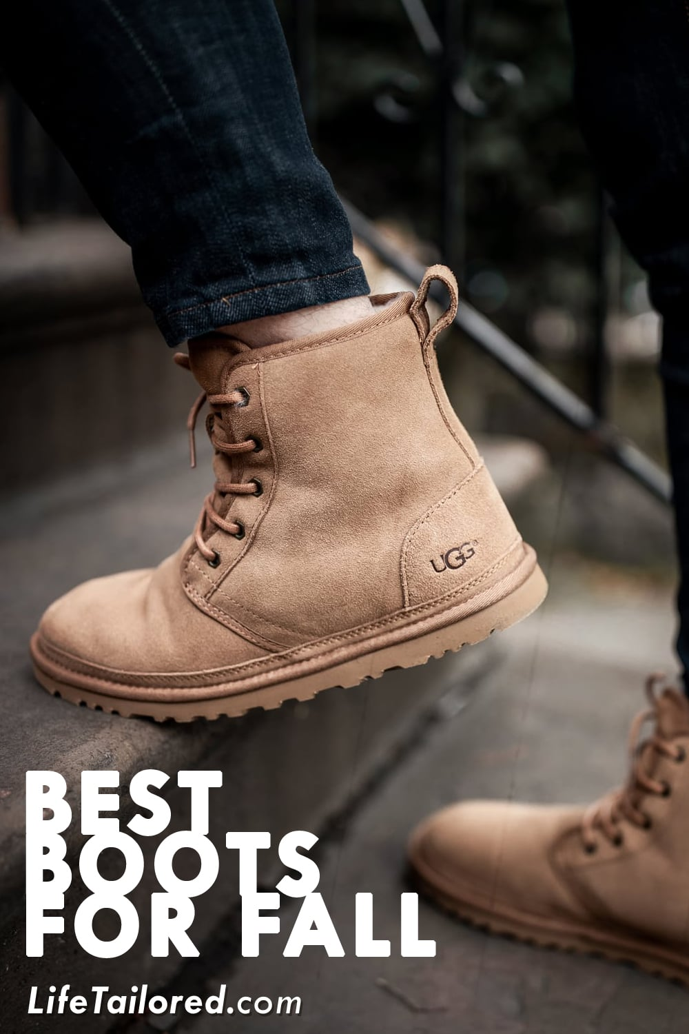 How to Style a Pair of Men's UGG Boots