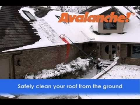 Avalanche Roof Rake Snow Removal Systems Manufactureravalanche Snow Removal Snow Rake Snow Removal Roof