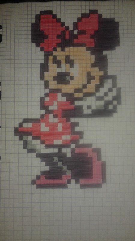 Résultat De Recherche Dimages Pour Pixel Art Mickey Et