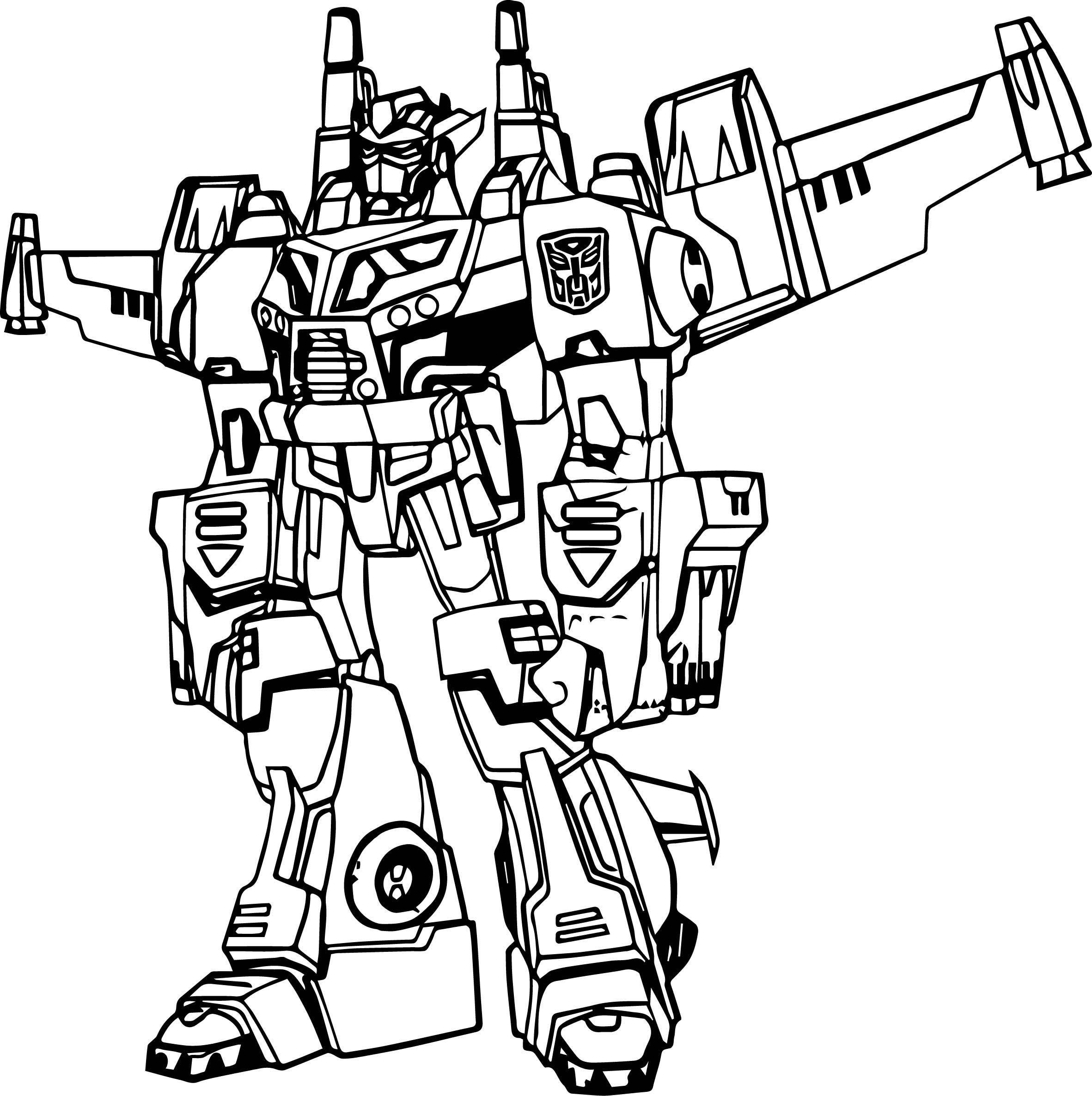 Free Transformer Coloring Pages Optimus Prime With Angry Birds Transformers Page 7