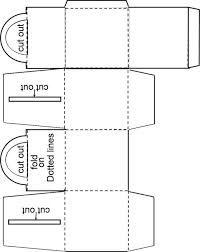 Resultado de imagem para hexagon explosion box template   Patterns ...