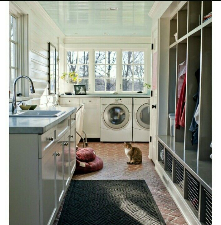 Kitchen Remodel Half Bath Sunroom Addition And Laundry: Yes! I Want To Convert Half My Sunroom Into A Mudroom