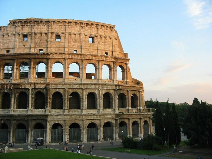 Colosseum View, Italy
