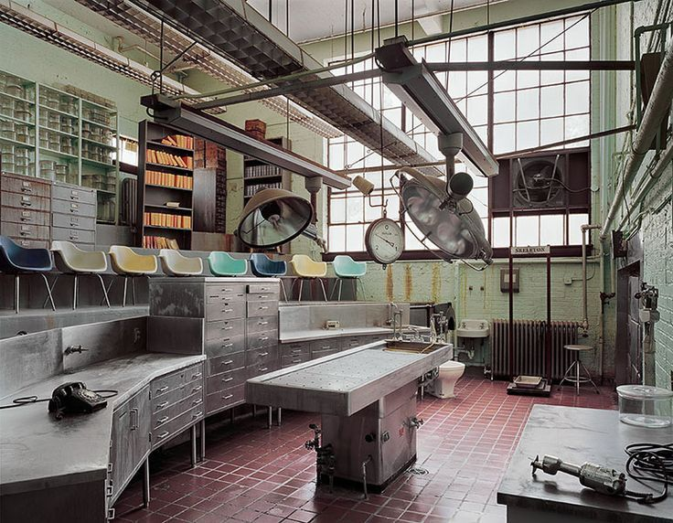 Autopsy Room, Abandoned Fairfield State Hospital, Connecticut
