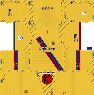 Dls Kits 2019 Nike Dls Kits 2019 In 2020 Soccer Kits Goalkeeper Kits Barcelona Third Kit