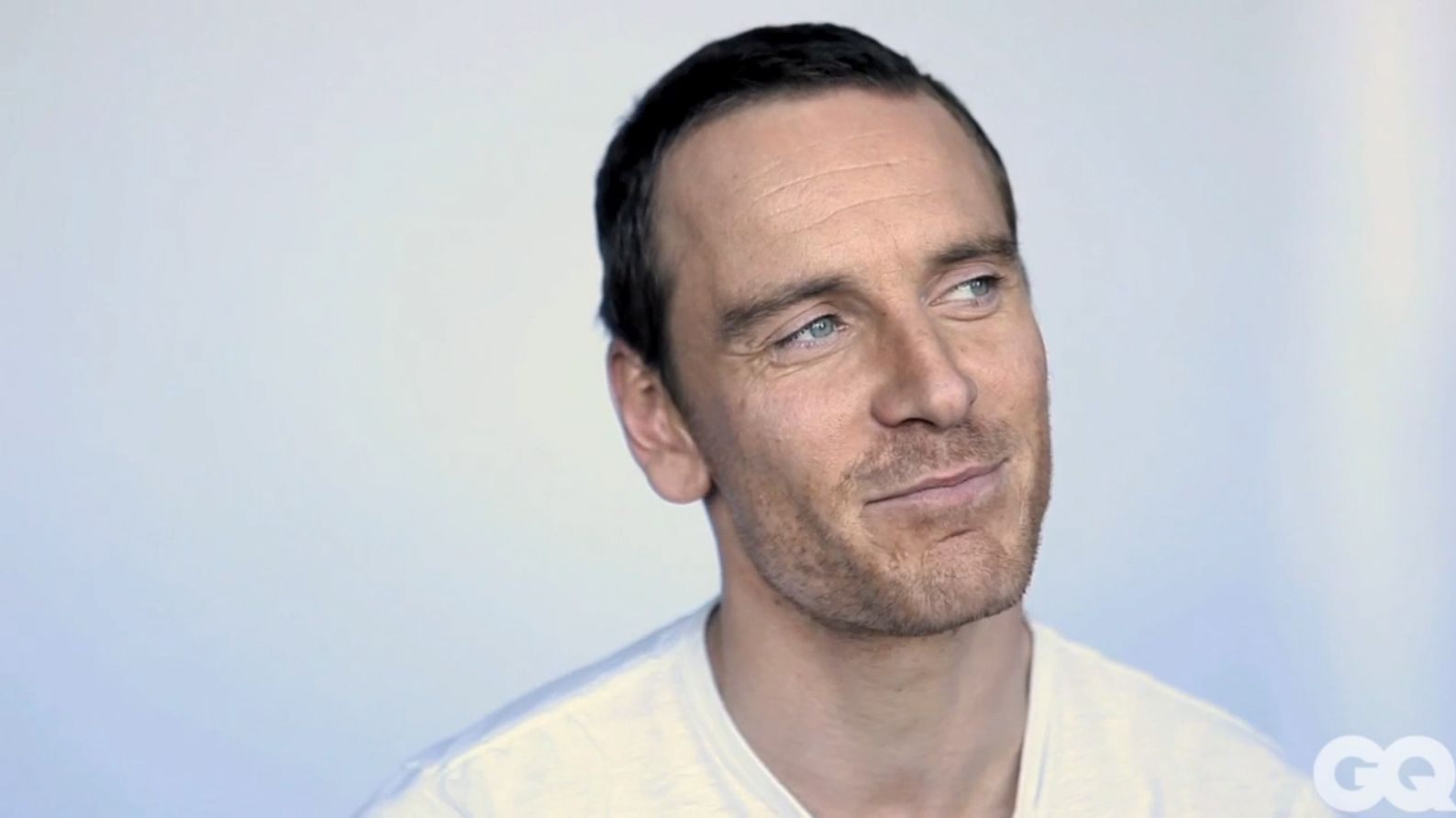But though he has a cheeky twinkle in his eye in person, Fassbender is also engaging, open, thoughtful and quick to laugh - passionate about his job but aware of its oddities. - quote from interview [total film UK]