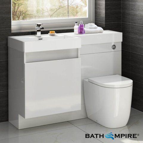 Basin U0026 Oval Toilet Vanity Unit Combination Bathroom Suite Sink WC 1206 X  In Home, Furniture U0026 DIY, Furniture, Cabinets U0026 Cupboards