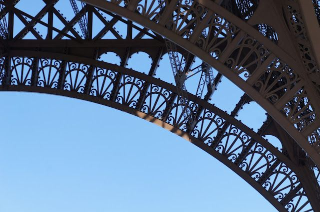 Steel lace at Eiffel Tower    lumo lifestyle, #eiffel, #Paris