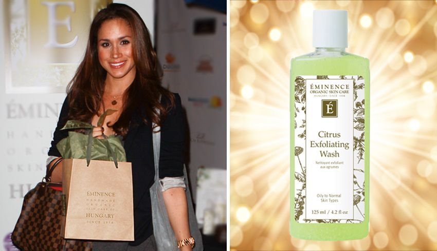 Meghan Markle S Skin Care How Eminence Organics Is Fit For A Princess Organic Skin Care Routine Skin Care Anti Aging Skin Care Remedies