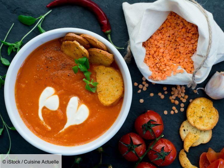 Comment Faire Cuire Les Lentilles Corail Soupe Aux Lentilles Rouges Cuisson Lentilles Et Soupes Saines