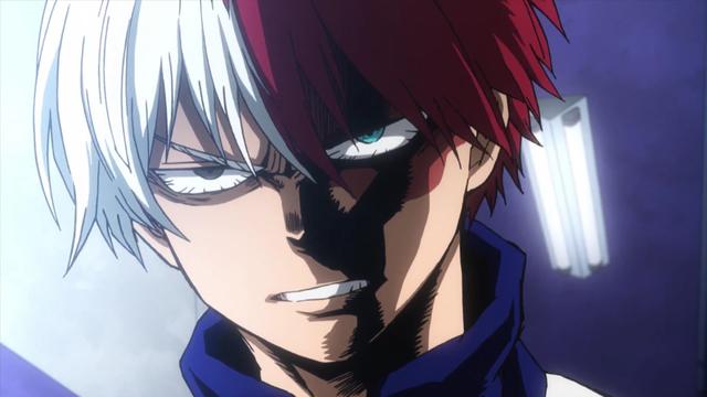 Shoto Angry Angry Anime Face Anime My Hero Academia