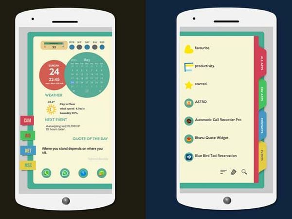 Make the home screen your own with these feature-packed