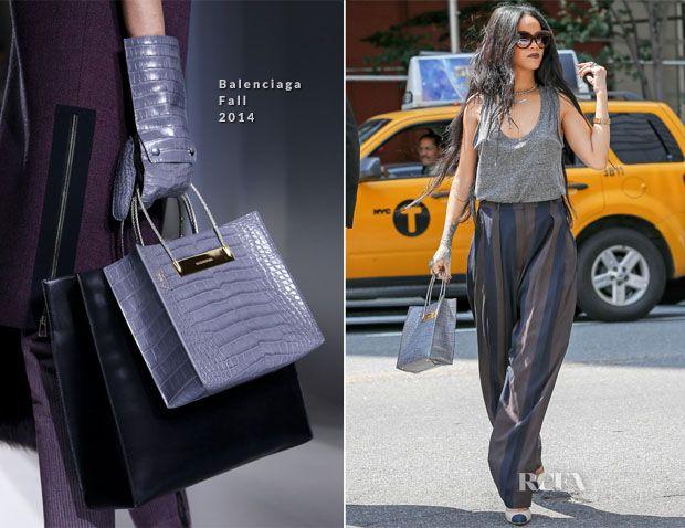 Rihanna In Alexander Wang, Haider Ackermann & Balenciaga ...