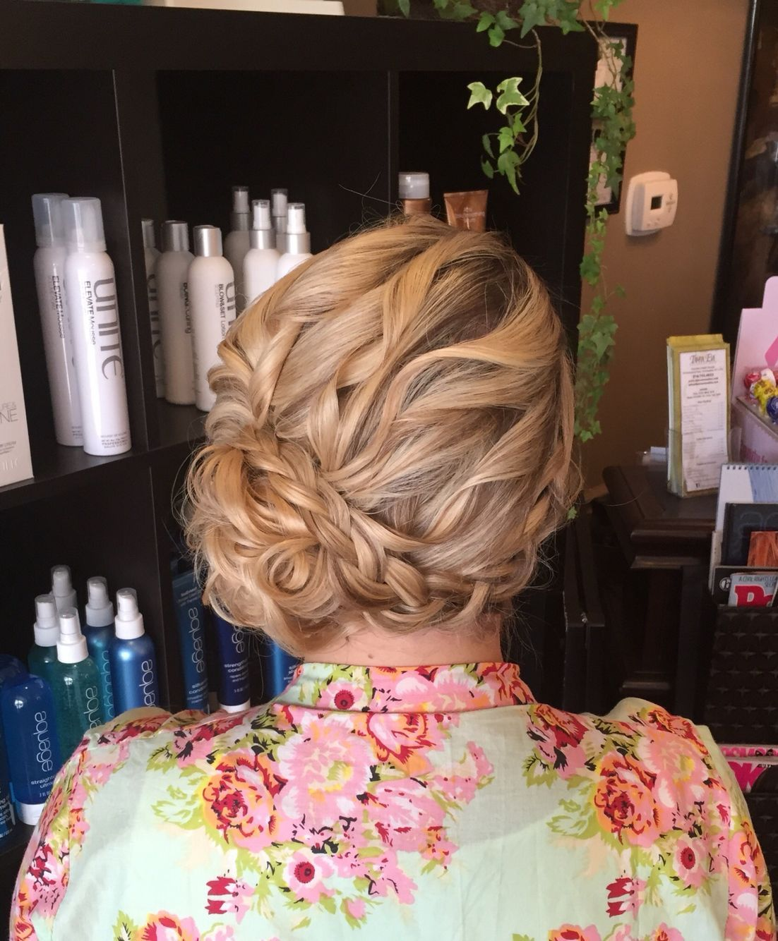 Gorgeous Wedding hair by Kristy at Tamra Eve Salon Farmingdale, NY curly low side bun updo with an incorporated braid. Absolutely lovely and Kristy listened to my request and gave me everything I wanted and more! www.tamraevesalon.com #lowsidebuns Gorgeous Wedding hair by Kristy at Tamra Eve Salon Farmingdale, NY curly low side bun updo with an incorporated braid. Absolutely lovely and Kristy listened to my request and gave me everything I wanted and more! www.tamraevesalon.com #lowsidebuns