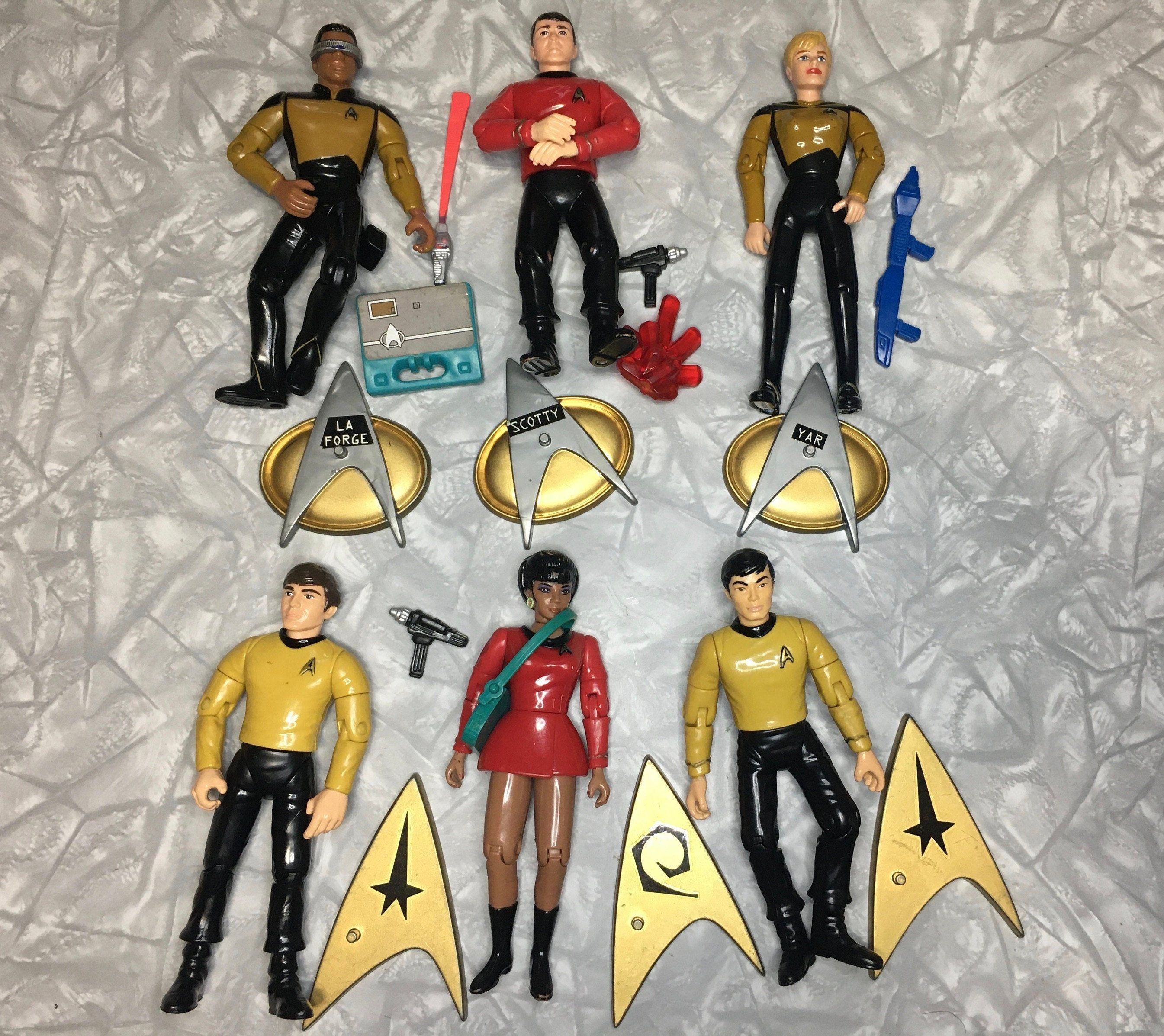 RARE Locutus of Borg Picard Action Figure 1993 Playmates Star Trek TNG MOC