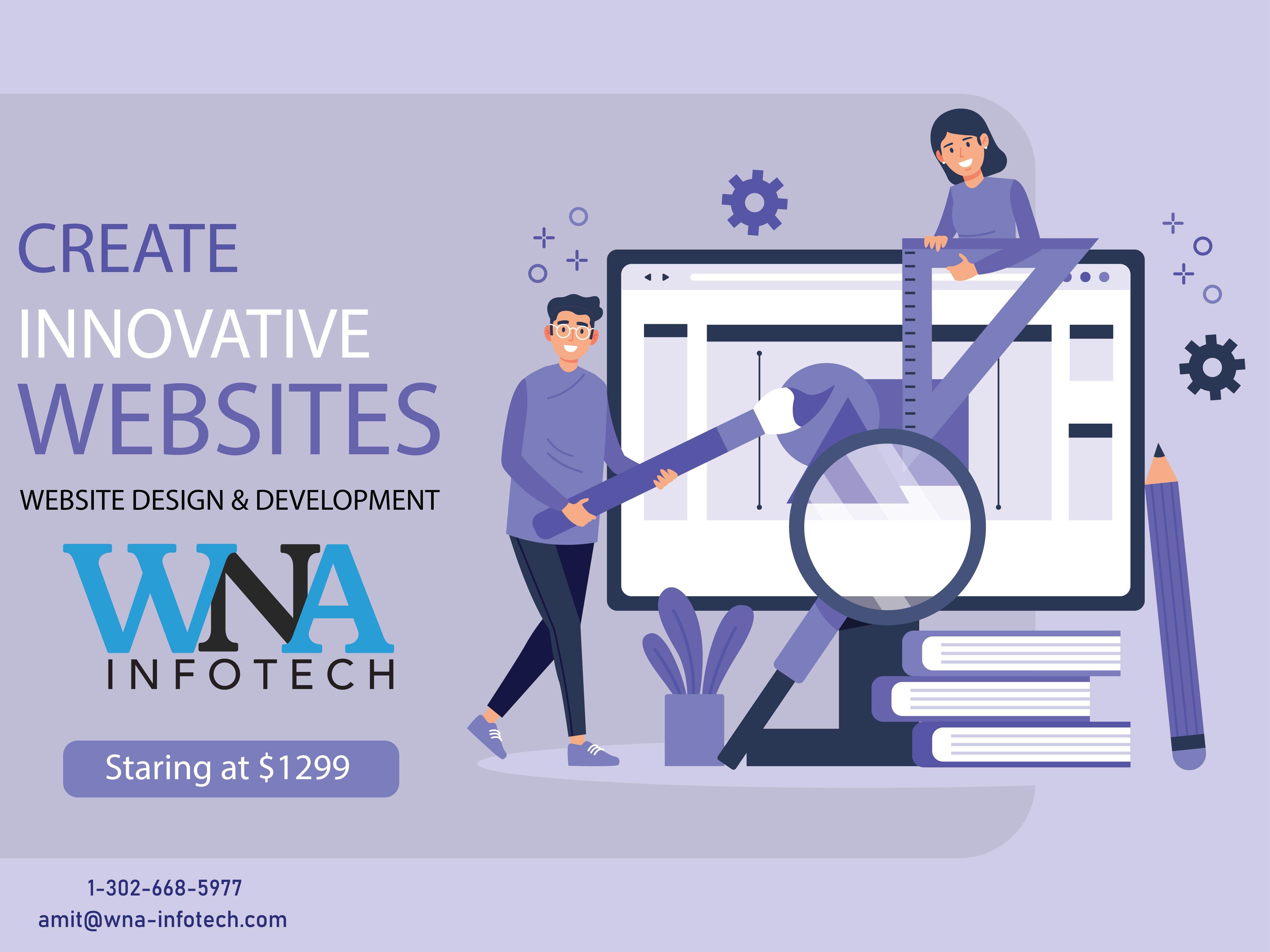 Get An Innovative Website Design Development Company Who Can Provide The Custom Web Services W In 2020 Innovative Websites Web Development Design Design Development