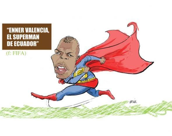 Resultado de imagen para caricatura DE  ENNER VALENCIA