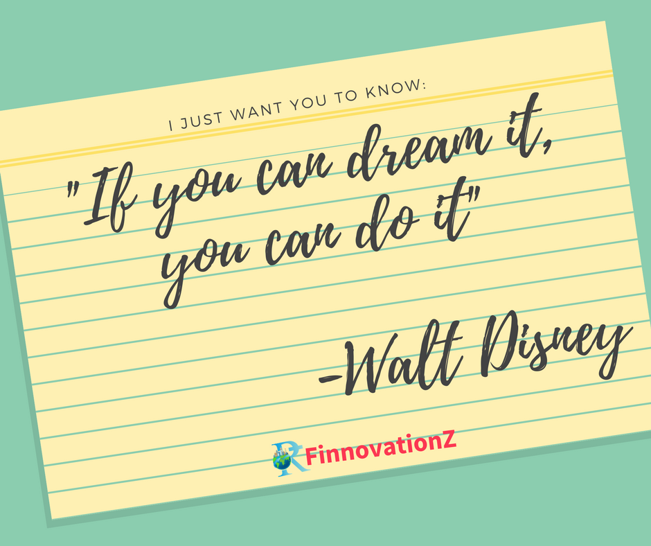 Walt Disney Stock Quote You Can Do It #waltdisney #morningquote #finnovationz  Quotes