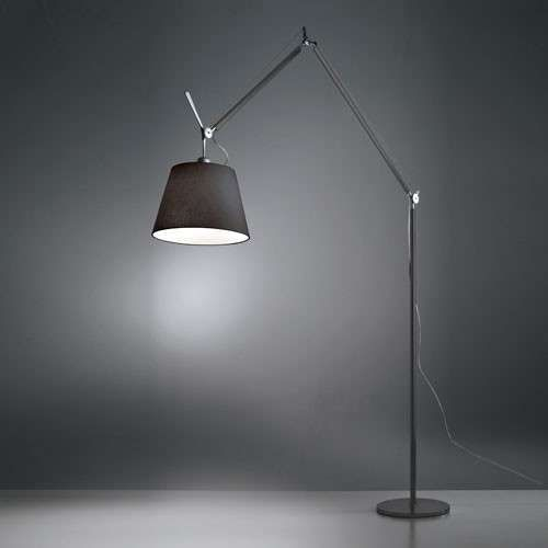 Tolomeo Mega Floor Lamp With Images Black Floor Lamp Modern