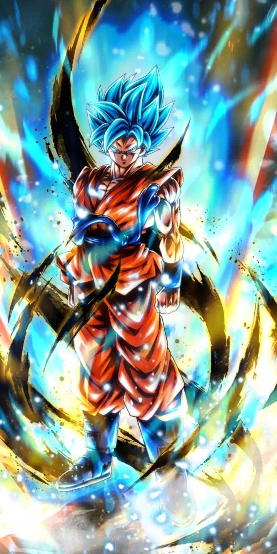 Dragon Ball Legends Goku Ssg Blue 孫悟空 壁紙 ベジット