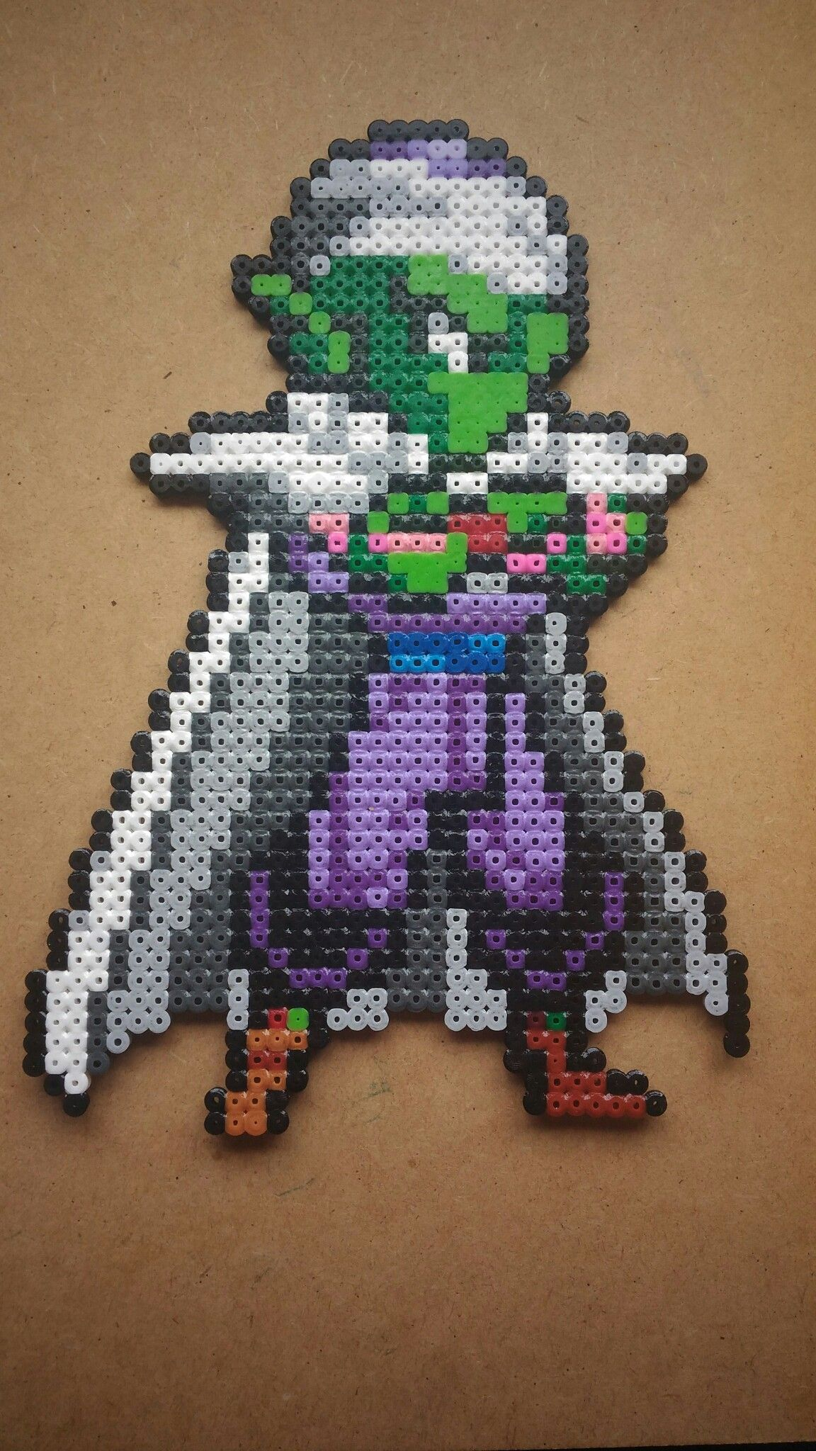 91008594cf21f Piccolo - Dragon Ball Perler Beads   Perler beads   Perler Beads ...