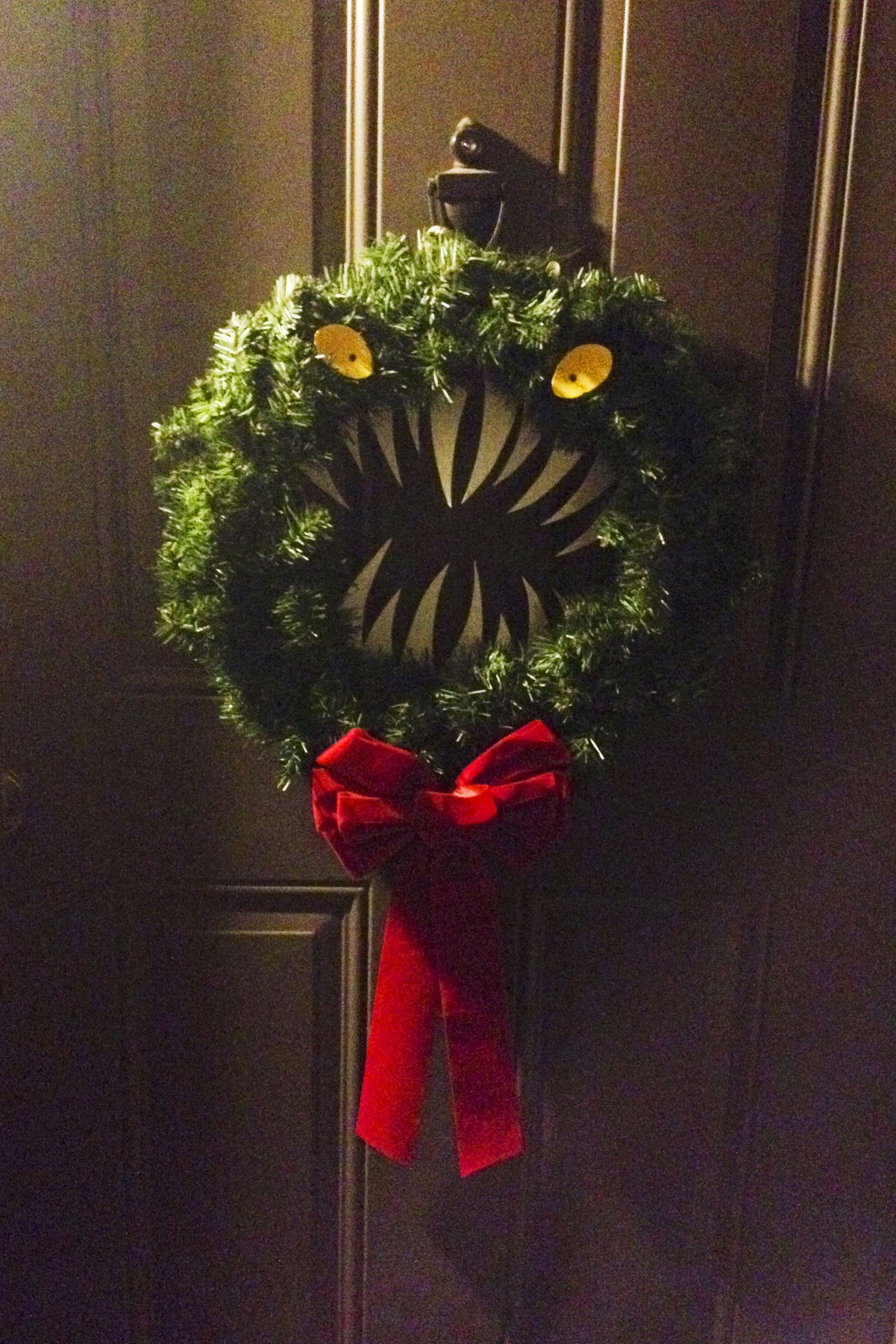 My Nightmare Before Christmas wreath | Yes I am this Geeky in 2018 ...