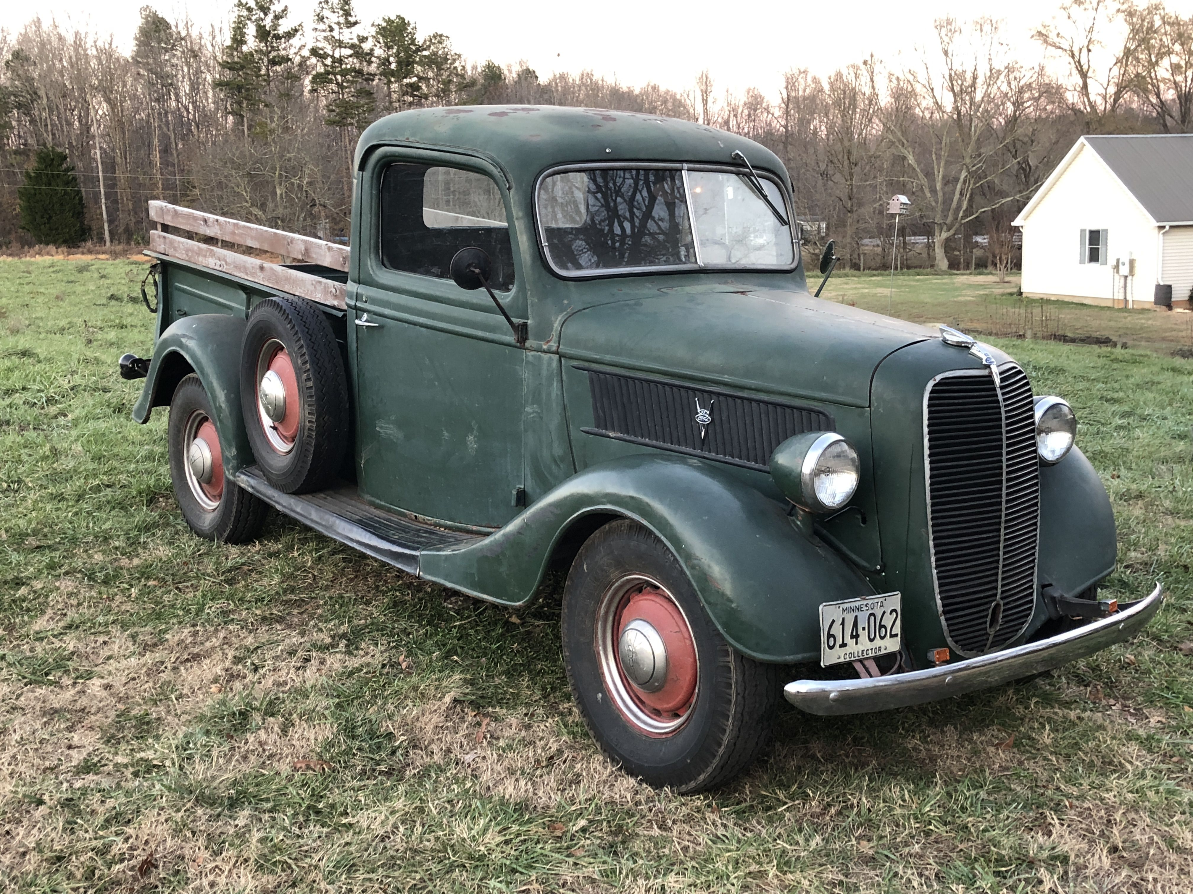 37 Ford Farm Truck With Images Vintage Pickup Trucks Old