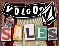 Sales Poster :: Volcom Malaysia