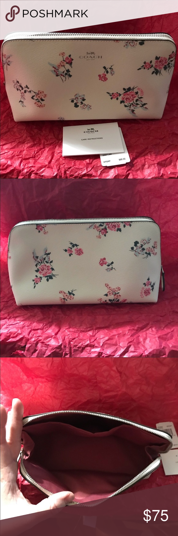 Coach Floral Cosmetic Bag I had two of these that I had