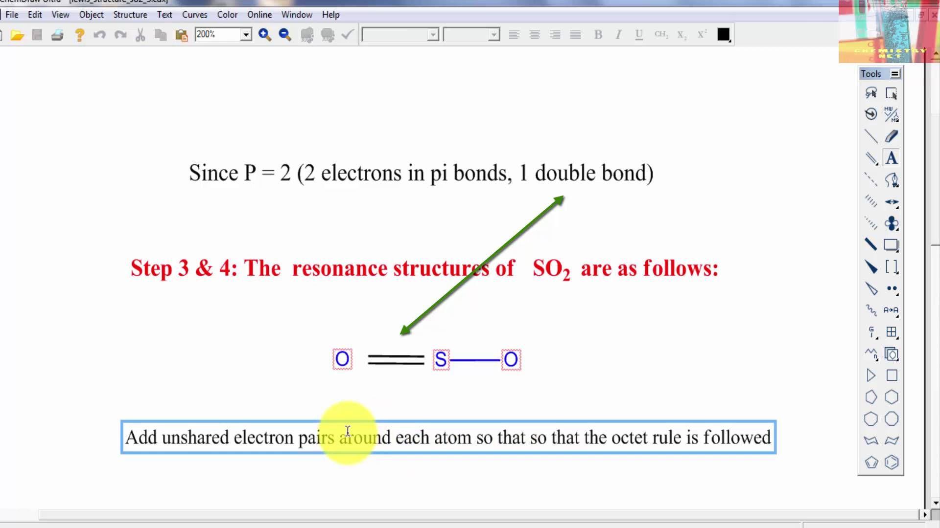 Lewis Dot Diagram For So2