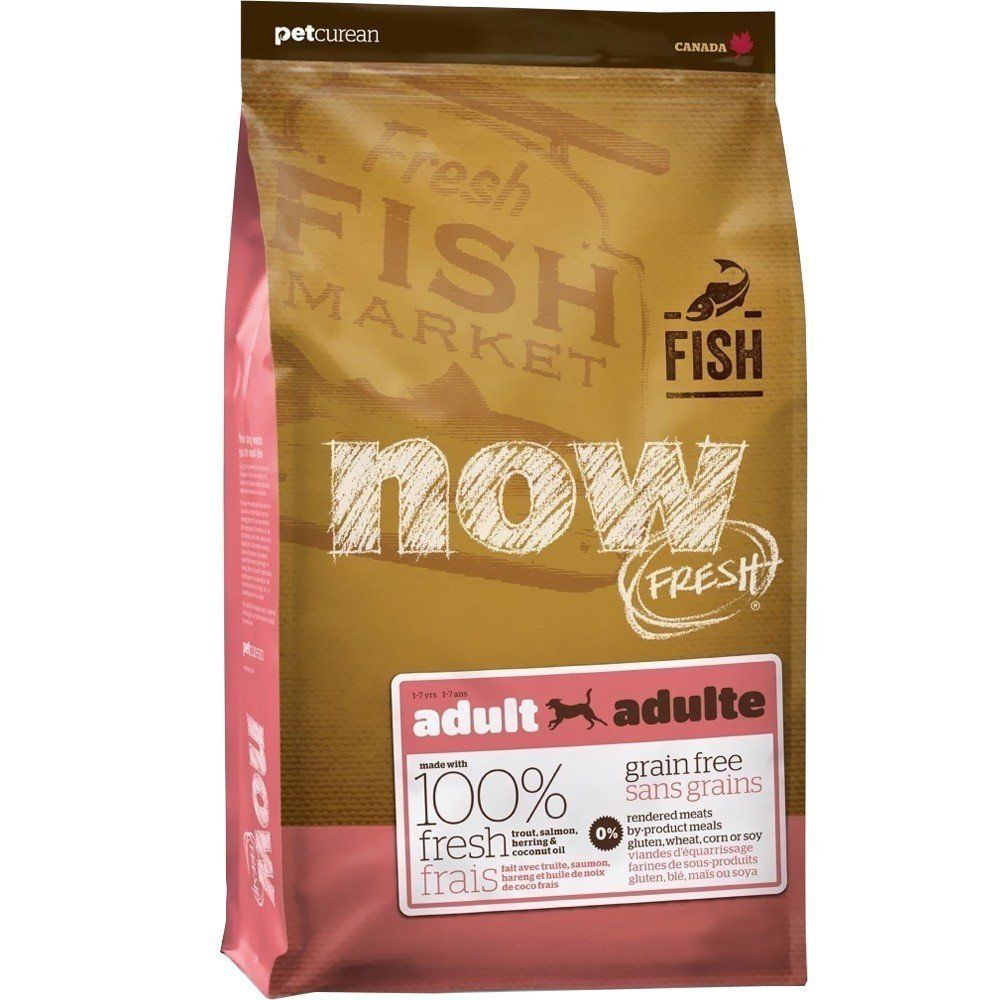 Now Fresh Grain Free Fish Adult Recipe Dog Food 25lb