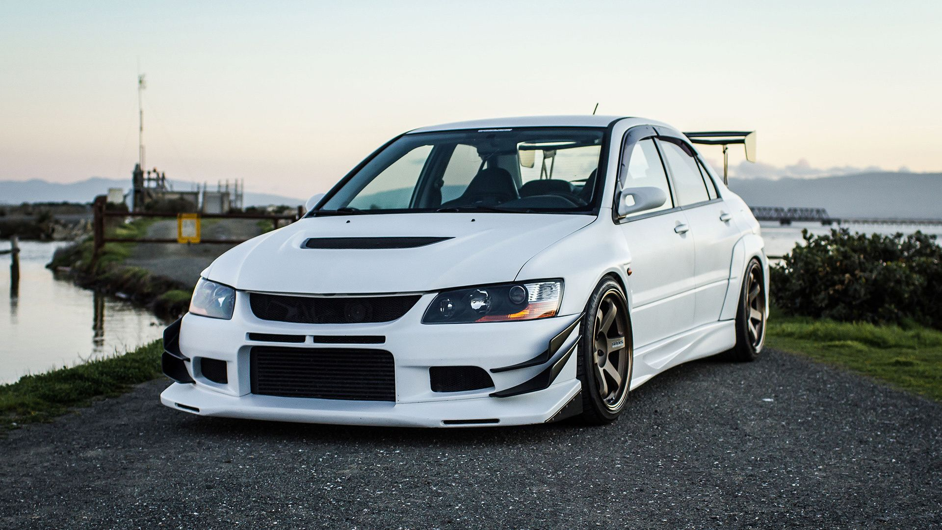mitsubishi lancer evo tuning wallpaper http www. Black Bedroom Furniture Sets. Home Design Ideas