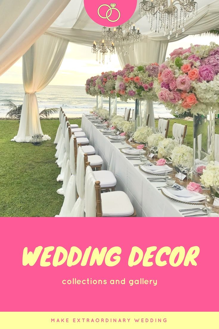 Spectacular Wedding Decorations Ideas Collections - Elegant And Low ...