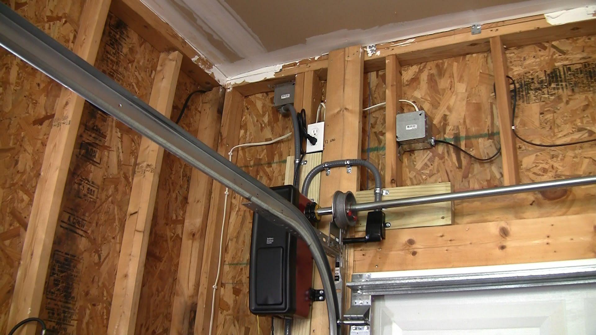 Liftmaster 8500 Jackshaft Complete Install Side mount