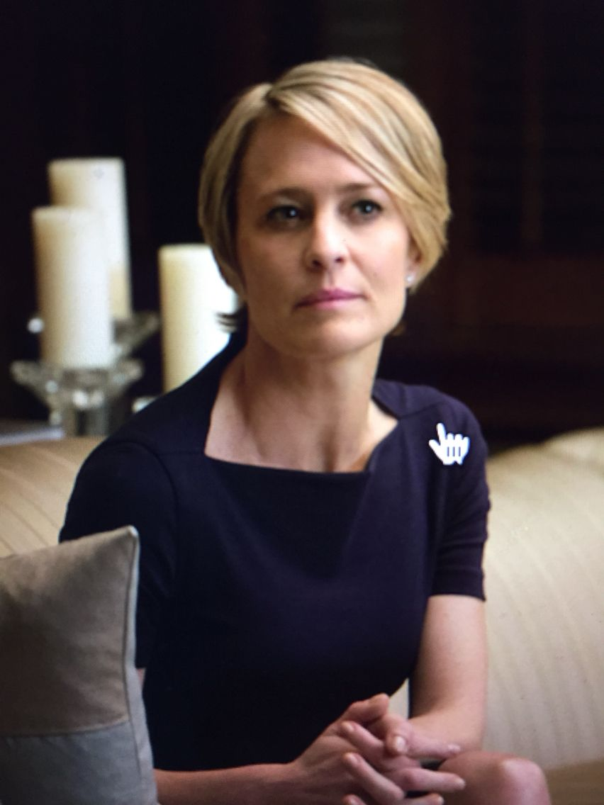 Claire Underwood S Hair Claire Underwood Robin Wright Haircut Short Hair Styles