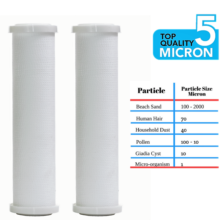 Clear2o Universal Replacement Whole House Sediment Pre Filter Cpp1002 2 Pack Best Water Filter Whole House Water Filter Sediment