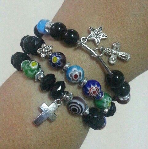 Cute lil murano glass beads