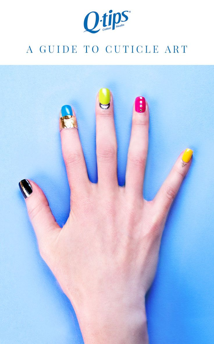 The newest trend in nail art: cuticle tattoos. Learn how to apply ...