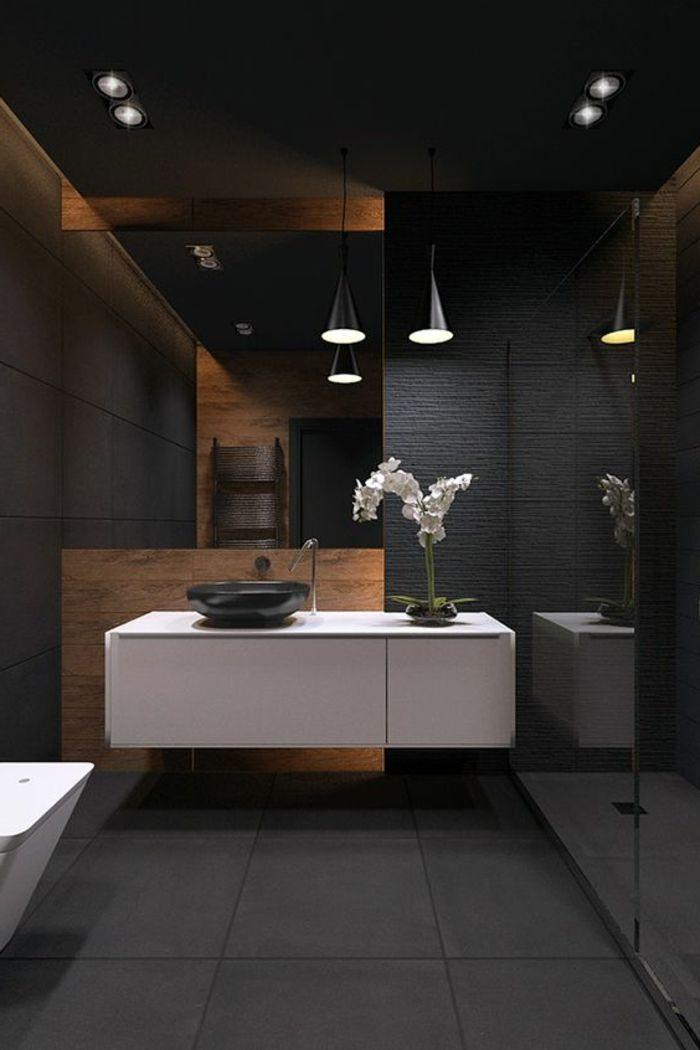 1001 id es pour cr er une salle de bain nature salle - Creer son meuble salle de bain ...
