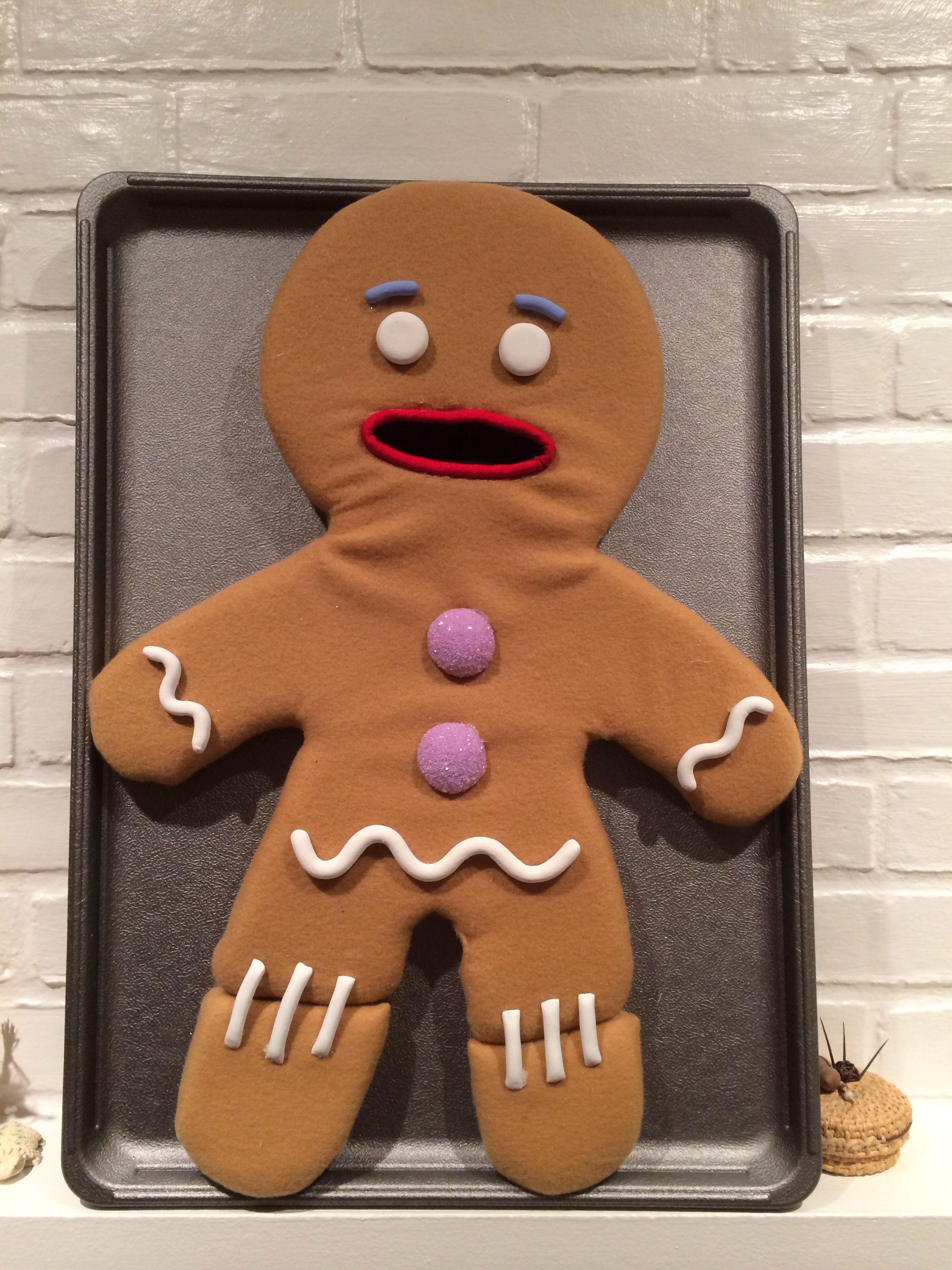 Gingy puppet! Shrek, Shrek costume, Christmas magic