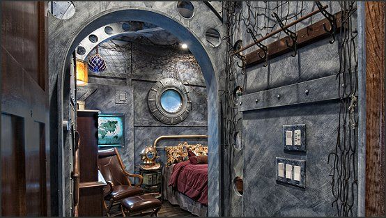 17 steampunk bedroom decoration ideas and tips for you - Steampunk Interior Design Ideas