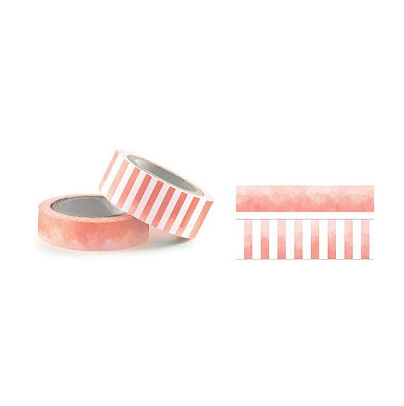 Sunset Watercolor Washi Tape by MemoryMakinShoppe on Etsy