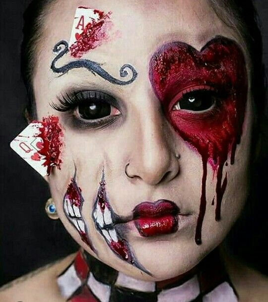 Pin by Безумный Джо on body art Pinterest Halloween 2017 - halloween horror costume ideas
