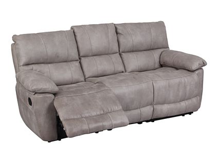 Grey with Light Grey c/s | Elvaston 3 seater sofa with 2 manual recliner actions | Hot offers Furniture | Harveys
